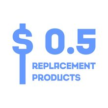 replacement products $0.5(China)