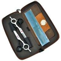 5 5 Professional Kasho Hair Scissors Set Hair Cutting Thinning Hair Shears Hairdressing Styling Tool LZS0574