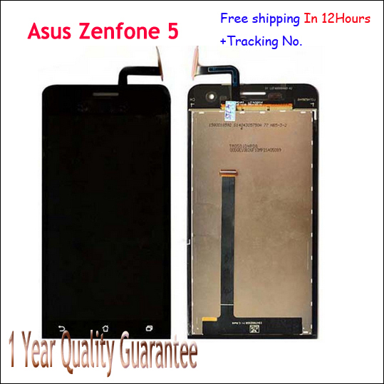 Original new display lcd touch screen digitador para asus zenfone 5 zenfone5 para asus_t00 a501cg a500cg t00j t00f teste ok + pista