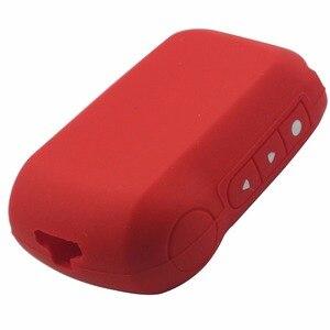 Image 4 - Jingyuqin A92 coque en Silicone pour Starline A95 A94 V62 A62 A64 LCD télécommande système dalarme de voiture bidirectionnelle couvercle de clé en Silicone