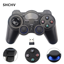 2.4G Wireless Game Controller Gamestick Joystick Gamepad for PC Android TV Box Raspberry Pi 4 Retroflag NESPi Retropie