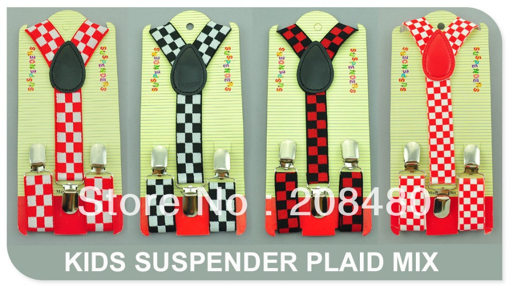 Free Shipping- Kids Suspenders 2.5cmx65cm