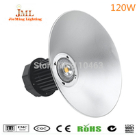 Super Brightness IP65 120W LED High Bay Light With Focus Diffuse Lampshade Options