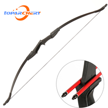 цена на 57inch Archery Takedown Recurve Bow Right/Left 30/40lbs Outdoor Shooting Target Longbow