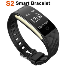 2017 Newest S2 Smart Bracelet Heart Rate 3axis G-sensor For IOS Android Mobile Phone Smart Wristbands Universal phone Bluetooth4