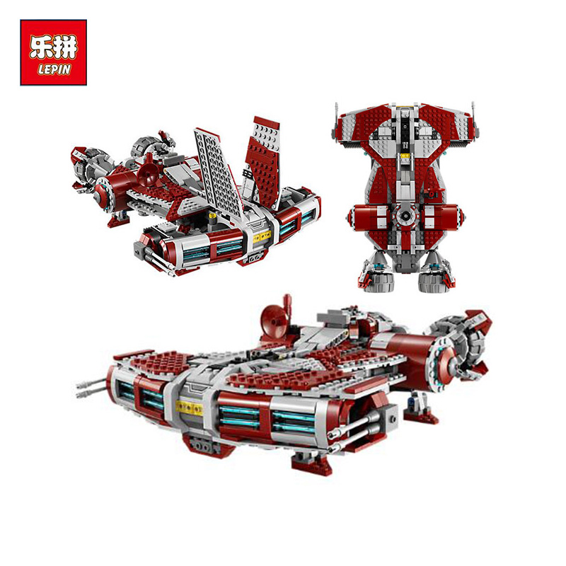 Lepin 05085 Genuine Star War Series The Jedi Defender Class Cruiser Set 75025 Building Blocks Bricks Educational Toys as Gift