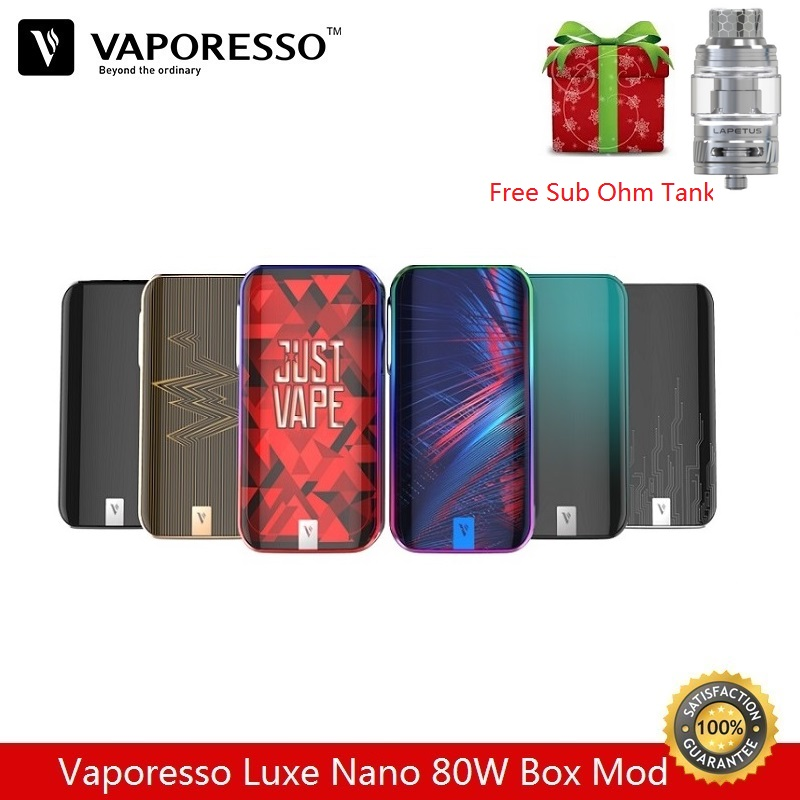 Pre-order Vaporesso Luxe Nano 80W Box Mod Built-in 2500mAh fit for Skrr Vape Tan