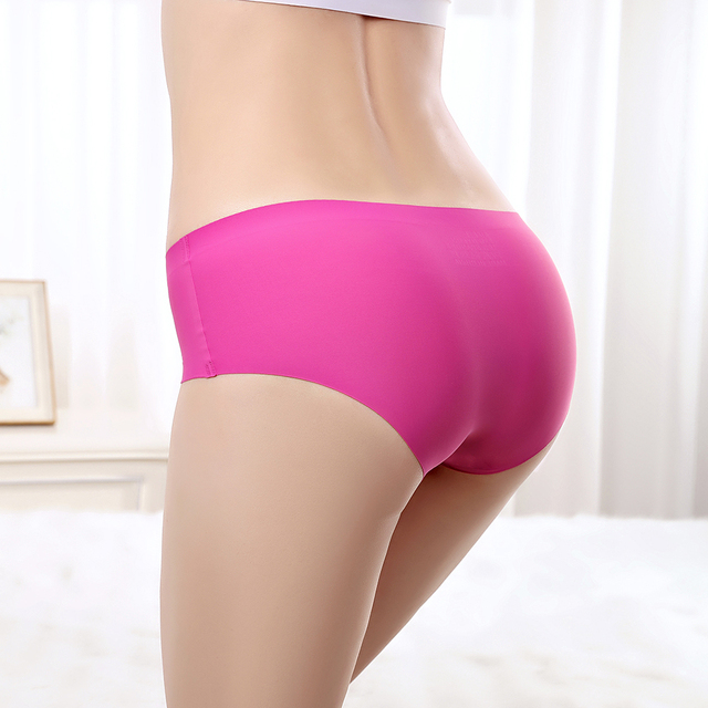 108a81b9fed Pack of 12 Low Rise Ultra Thin Women Boyshorts Seamless Panties Hipster Big  Size Brief Sexy Invisible Boyleg Women Underwear