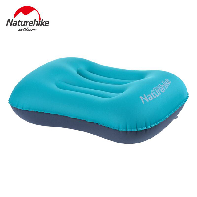 Naturehike Inflatable Pillow Soft Ultralight Camping Pillow Air Mattress Travel Inflatable Mattress To sleep Cushion Use Tourist