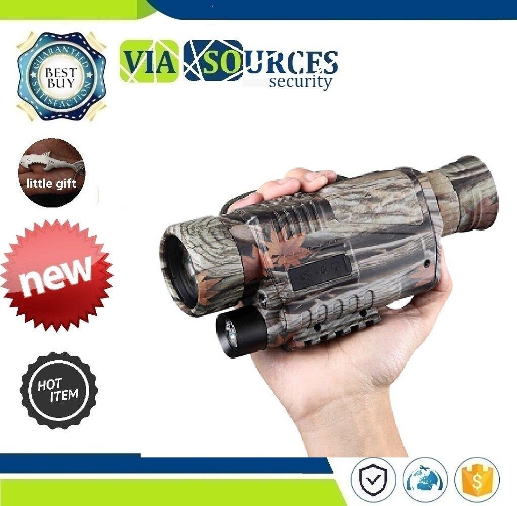 Video Recorder Full Dark Night Vision Monocular Night Vision Device New Camouflage 5X40 CCD IR Digital Night Vision Camera