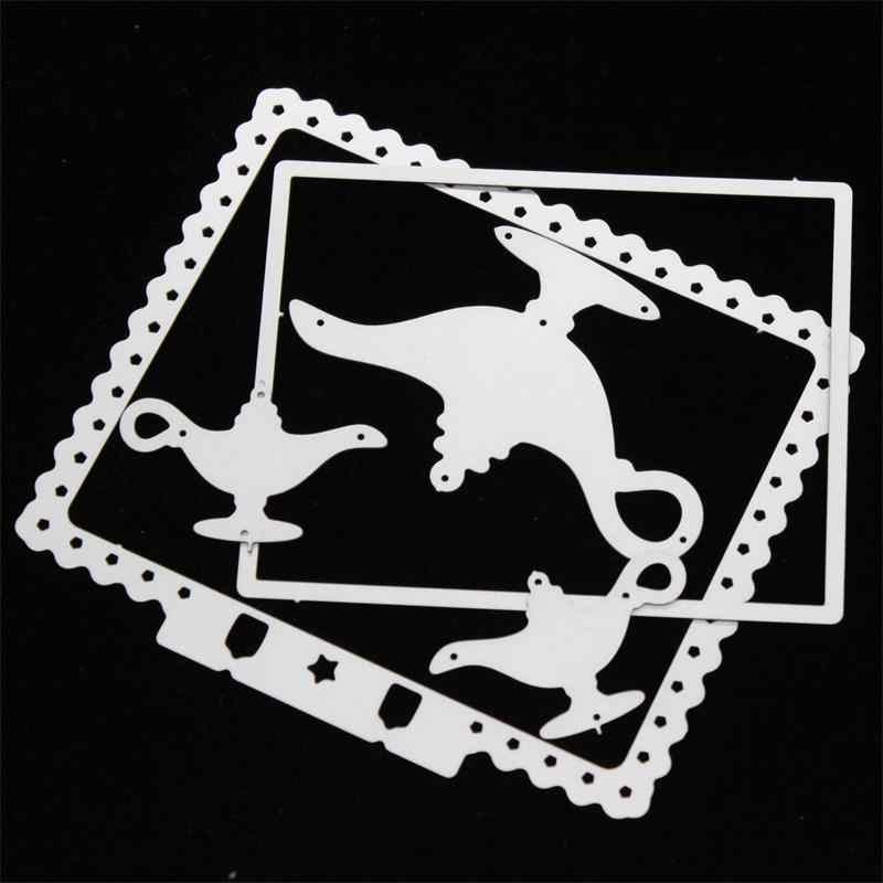 KSCRAFT Memory Dex Border Frame Metal Cutting Dies Stencils for DIY Scrapbooking/photo album Decorative Embossing DIY Paper Card