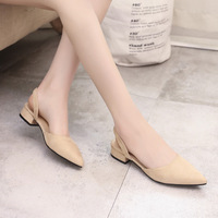 2018 Women Pumps Ankle Strap Thick Heel Women Shoes Square Toe Mid Heels Dress Work Pumps Comfortable Ladies Shoes 2.5 cm 1