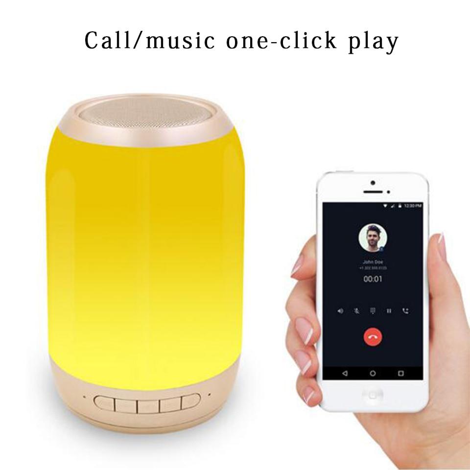 Wireless Bluetooth Speaker Portable LED Music Pulse Subwoofer Bluetooth Sound Box USB Car Bar Sound Column Luminous Speaker