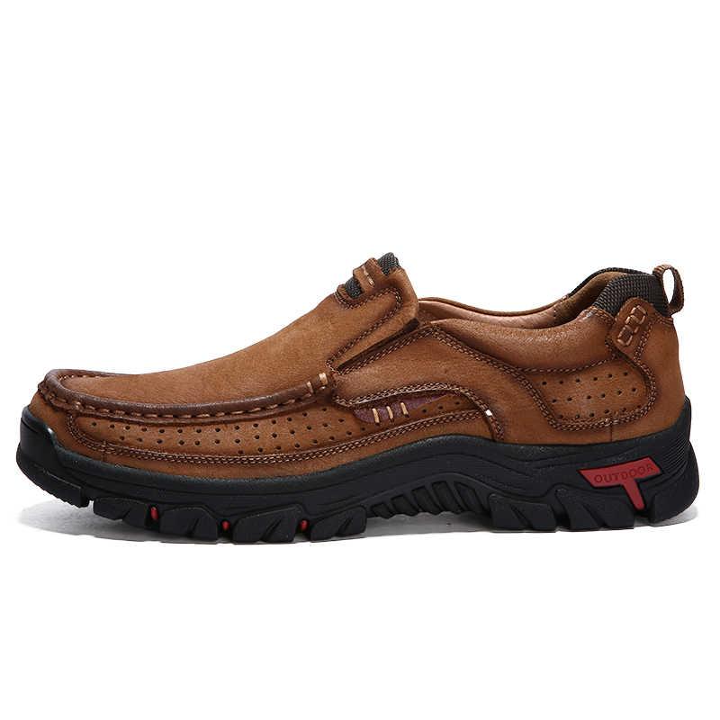 2019 ใหม่ผู้ชายกีฬากลางแจ้งรองเท้าวิ่งรองเท้าชายกีฬารองเท้า Breathable Jogging รองเท้าผ้าใบรองเท้า