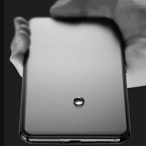 Image 4 - 100 pièces pour OPPO F11 Pro mat givré Anti empreintes digitales couverture complète verre trempé 9H pour Oppo F11 Pro Film protecteur décran