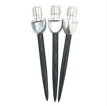 Cuesoul Steel Tip Conversion Points 2ba For Soft Darts Silver Black