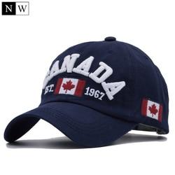 [NORTHWOOD] 2018 хлопок Gorras канадский бейсбольный Кепка Флаг Канады Кепка Snapback Регулируемая Мужская Бейсболка s бренд Snapback Кепка