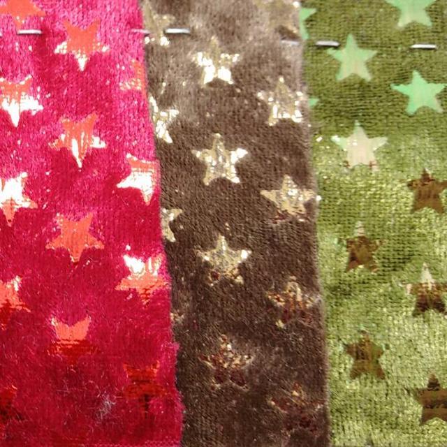 nouvelles variétés design distinctif meilleur site € 16.35 |Tissu velours étoiles en relief pour accessoires de bricolage  papier peint sacs à main et chaussures P1418 dans Cuir synthétique de  Maison & ...