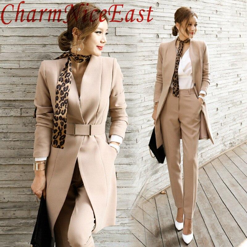 font b 2018 b font Fashion Elegant Women Business font b Suits b font font