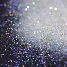 Ультра тонкий красочный искры-растворитель устойчивый белый переливающийся блеск-015 размер, 0,5 мм