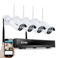 ZOSI 1.3MP Plug and Playไร้สายNVRชุดP2P 960จุด/720จุดHDกลางแจ้งIR Night Visionรักษาความปลอดภัยกล้องIP WIFIกล้องวงจรปิดระบบ