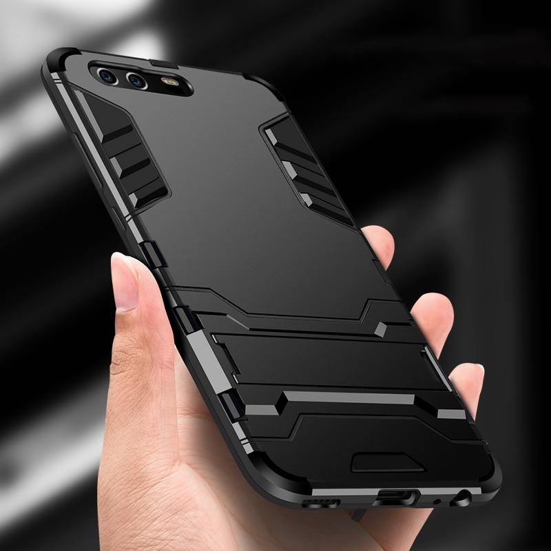 Hybrid Kasus Untuk Huawei Honor 5C Kasus Armor Untuk Huawei Honor 8X Max 10 9 8 Lite Bermain 8A 8C 7A 7C Pro Kasus Meliputi ...
