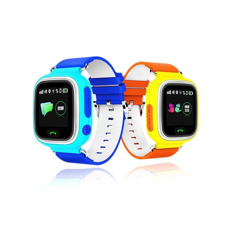 original Kids GPS Smart Watch Q90 For Android IOS SOS Fitness Sleep Tracker Pedometer smartwatch Safe Protector PK Q60 Q80