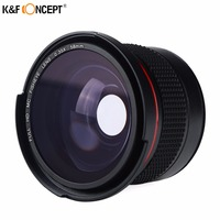 58mm Wide Angle Fisheye Camera Lens 0.35x with a Macro Lens for Canon EOS 700D 650D 600D 550D 1100D Rebel T5i T4i T3i T3 T2i
