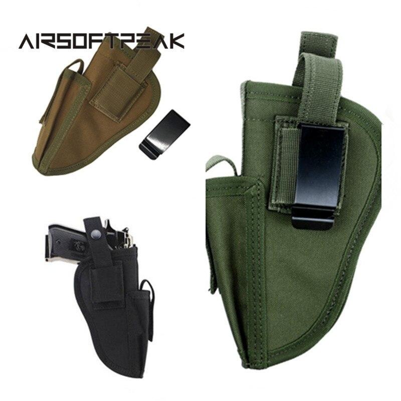 AIRSOFTPEAK Caza Al Aire Libre Táctico Militar Pistolera de la Pistola de Mano I