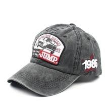 2019 Retro Baseball Cap Men Dad Hat Rapper Hip Hop Caps Men Summer Washed Denim Caps Casual Cotton Unisex Hats bone gorras стоимость