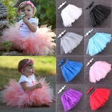Hot 1 Set Kids Girls Toddler Baby Bow Flower Cute Tutu Skirts Sleeveless Princess Skirts