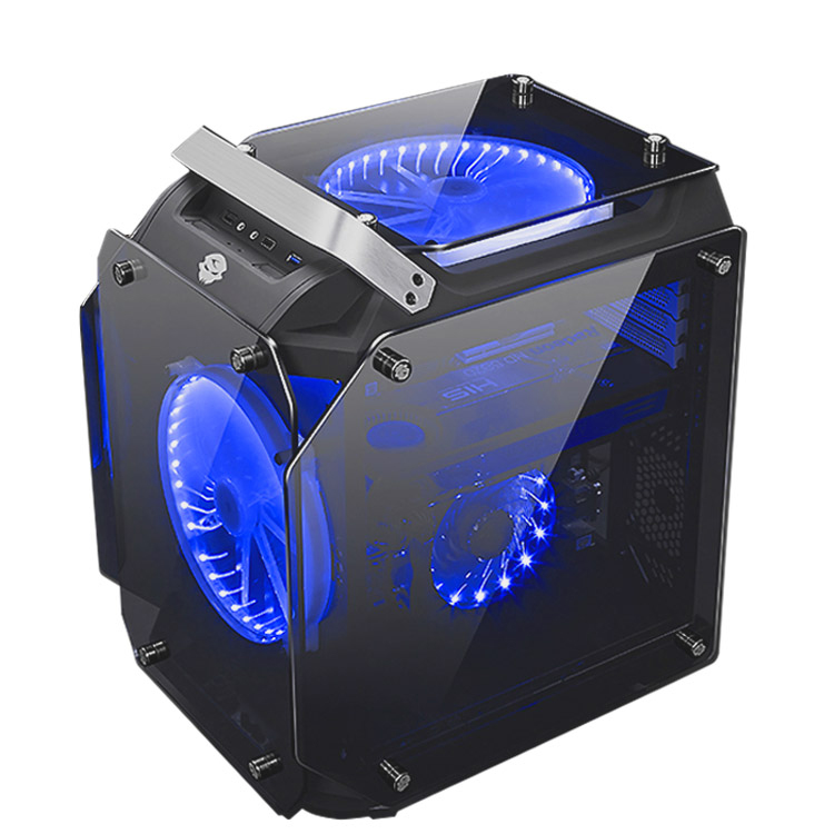 все цены на Kumgang Chassis desktop computer atx shell  electric game diy water cooled computer case онлайн