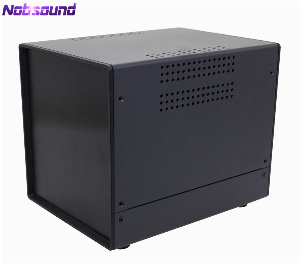 Nobsound Iron Chassis Monitoring Equipment Case Hi end Enclosure 150*160*195MM