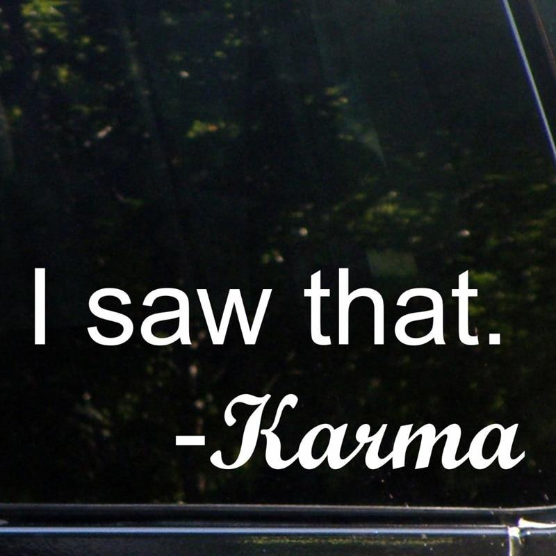 I Saw That - Karma (8