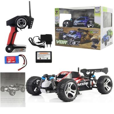 WL Brinquedos A959 1:18 Completa Proporcional 2.4G Carro de Controle - Brinquedos com controle remoto - Foto 2
