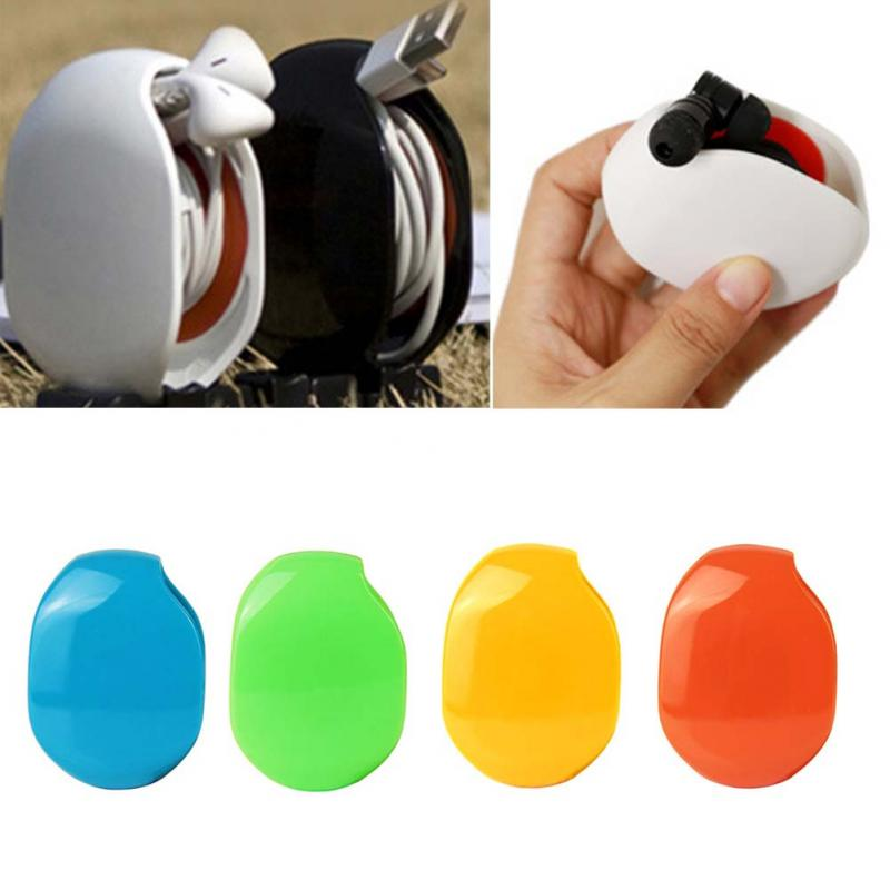 new Auto Cable Cord Wire Organizer Bobbin Winder Smart Wrap For Earphone Headset #05
