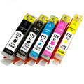 5 Pcs Full Set 178XL 178 XL Ink Inkjet Cartridges Compatible For HP178 HP178XL HP C309A B109 B209 B210 C6380 7510 3070A printer