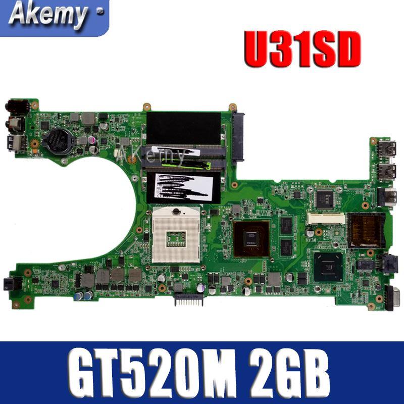 U31SD GT520M 2GB N12P-GV-B-A1 mainboard For ASUS U31S U31SD U31SG laptop motherboard 60-N4LMB2000-C01 100% Tested Free ShippingU31SD GT520M 2GB N12P-GV-B-A1 mainboard For ASUS U31S U31SD U31SG laptop motherboard 60-N4LMB2000-C01 100% Tested Free Shipping