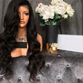 180 Density Full Lace Wig With Natural Hairline Lace Wigs Virgin Hair Brazilian Lace Front Human Hair Wig Wavy Middle Part Wigs