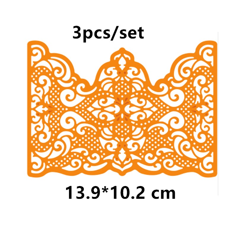 Lace Frame Metal Cutting Dies for Scrapbooking 2019 Paper Craft Embossing Die Card Making Stencils Knife Mould in Cutting Dies from Home Garden