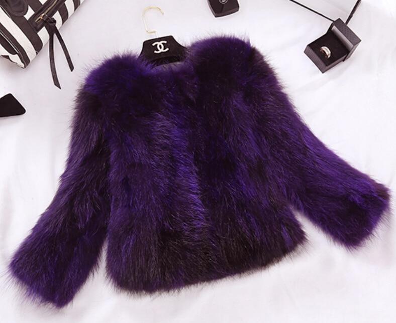 Роскошные Натурального Меха Фокс Куртка Леди Мода На Заказ Большой Размер Нескольких Цветов Природа Фокс Шуба Подлинная Жилет DFP818