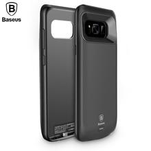 Baseus Дело Зарядное устройство Для Samsung S8 S8 + 5500 мАч Резервное Копирование Внешняя Батарея Банк Питания Для Galaxy S8 Портативный Дело Powerbank