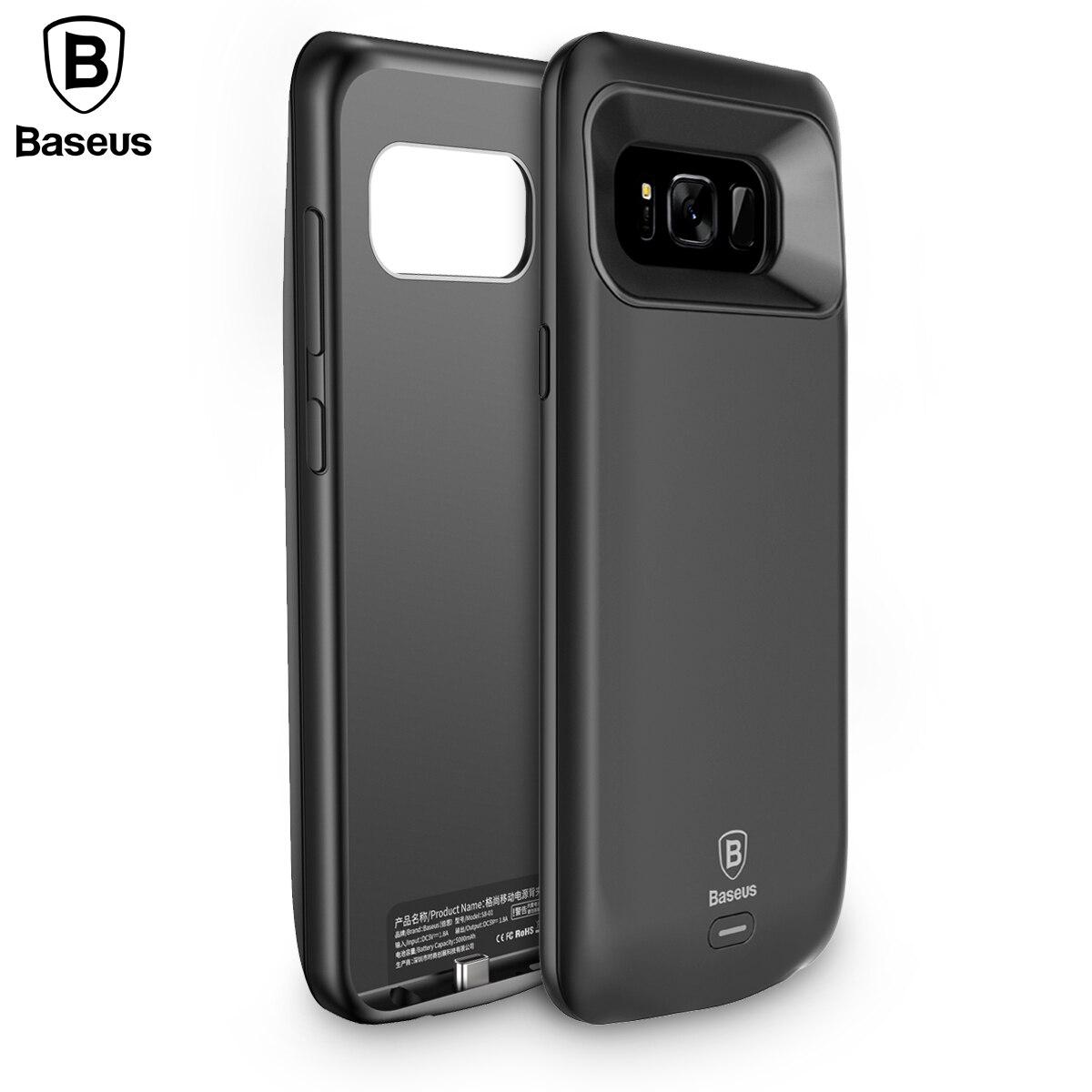 bilder für Baseus Ladegerät Fall Für Samsung S8 S8 + 5500 mAh Externer Batterieleistungbank Für Galaxy S8 Tragbare power Fall