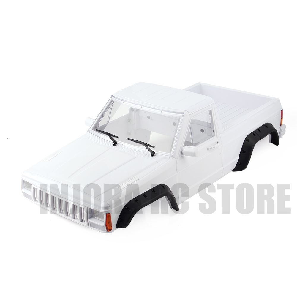 Hard Plastic 313mm Wheelbase Cherokee Pickup Body Car Shell for 1/10 Scale RC Rock Crawler Axial SCX10 & SCX10 II 90046 90047 цены