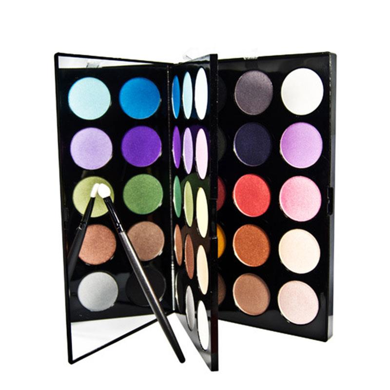PARTY QUEEN 30Colors Nude Shimmer Matte Eyeshadow Palette Makeup Glitter Artist Eye Shadow Iridescent Finish free shipping hot sale 252 colors eye shadow makeup party cosmetic shimmer matte eyeshadow palette set fit for women
