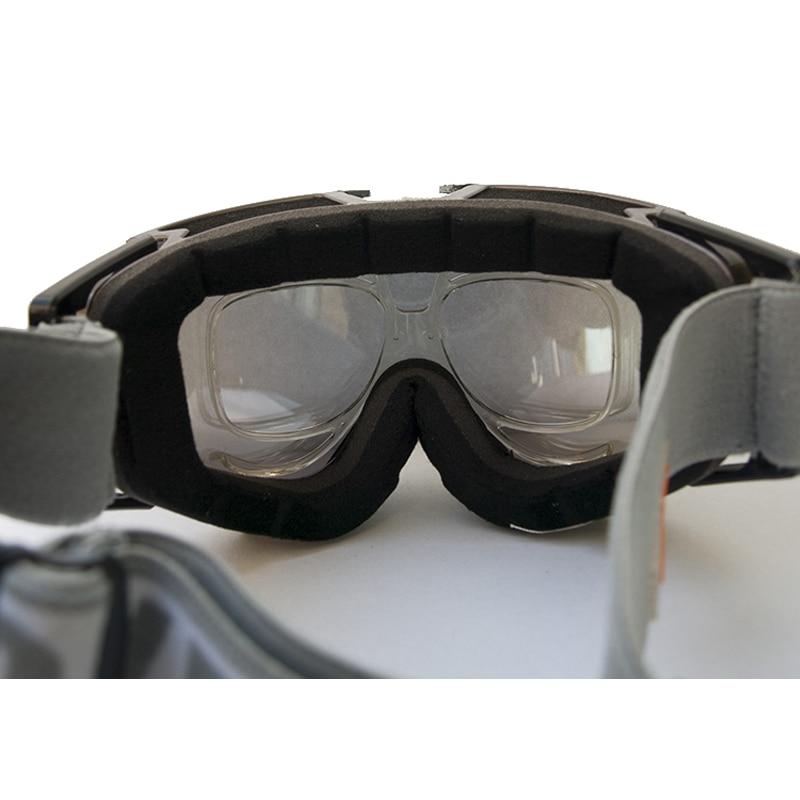 Ultraligero Ski Snowboard gafas integrado lente marco miopía sol ...