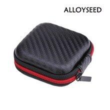 Carry футляр ева кабели sd box случае наушники хранения карты сумка