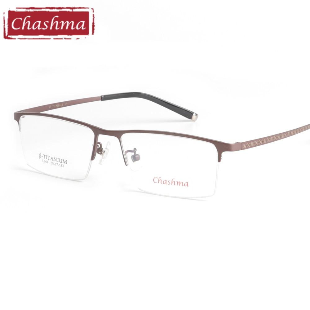 Chashma Marke Reinem Titan Brille Top Qualität Ultra Licht Rahmen ...