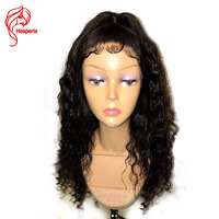 Hesperis Full Lace Human Hair Wigs Malaysian Remy Hair Curly Full Lace Wigs With Baby Hair Guleless Full Lace Wig Bleached Knots