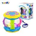 Mini tambor de mão infantil baby toys magic light-emitting e melhor música toys infância educacional developmental aprendizagem toys